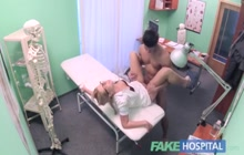 Czech doctor fucking with her patient