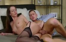 Caroline Ardolino creampied after sensual sex